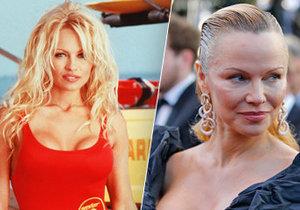 Pamela Anderson na festivalu v Cannes se změnila k nepoznání.