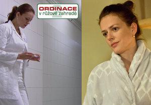 Marika z Ordinace zjistí, že je těhotná.