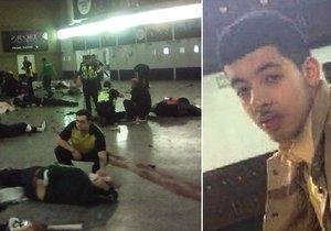 Salman Abedi se odpálil u východu z koncertní haly.