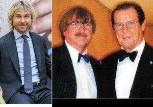 Zesnulý Roger Moore se potkal s Karlem Vágnerem a měl rád Pavla Nedvěda.