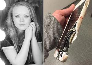 Lisa přežila výbuch v koncertní hale v Manchesteru. Život jí zachránil její telefon.