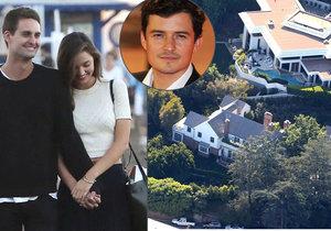 Bývalá manželka Orlanda Blooma Miranda Kerr se podruhé vdala! Za miliardáře a zakladatele Snapchatu Evana Spiegela.
