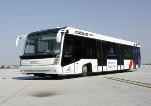 Letiště Václava Havla pořídí až 20 nových autobusů Cobus 3000.