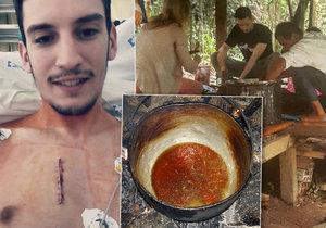 Takhle se v peruánských pralesích vaří léčivý odvar z ayawasky.