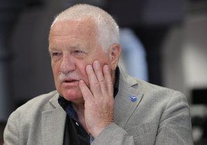 Václav Klaus ve Studiu Blesk