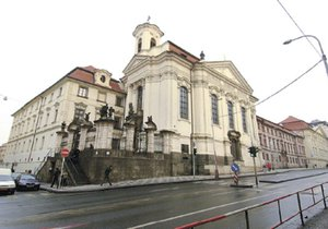 Pravoslavný chrám Cyrila a Metoděje  v Praze, kde byla nalezena DNA