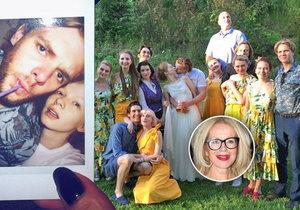 Dcera Jitky Asterové Anna Linhartová se tajně vdala.