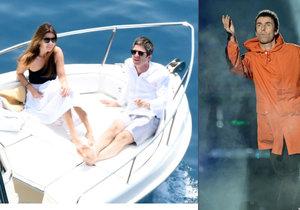 Liam Gallagher se pustil do svého bratra. Ten si místo účasti na benefičním koncertu užíval na dovolené.
