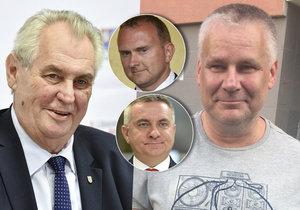 Mynář s Krulišem chtěli údajně znovu otevřít případ Kajínek: Milost měla podpořit Zemanovu kampaň.