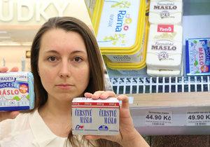 Z másla se stala luxusní potravina. Je drahé jako nikdy předtím.
