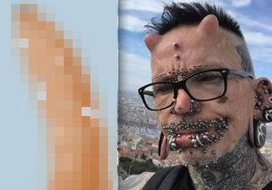 Muž, který má na penisu 278 piercingů, popsal svůj sexuální život.