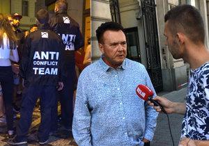 Antikonfliktní tým si radní Prahy 1 Ivan Solil pochvaluje.