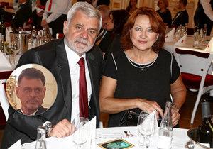 Zlata Adamovská na cenách Trebbia: V »zajetí« manželů! Současný i bývalý pohromadě