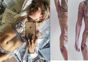 Katka se pochlubila novým tetováním.