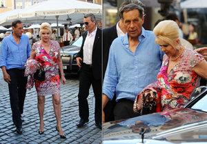Ivana Trump navštívila Prahu.