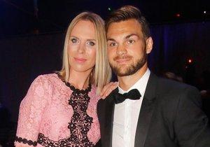Diana Kobzanová s přítelem Michalem Frolíkem