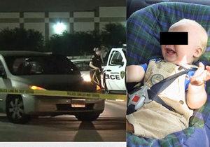Kuriozní zásah strážníků: Batole sebralo tátovi klíčky od auta a zamklo se v něm!