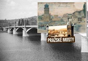 Jiráskovu mostu v Praze musel ustoupit jezuitský pavilon, stavba se otevírala ve třech částech.