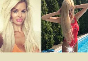 Silvia Kucherenko se ukázala v sexy plavkách.
