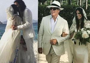 Módní ikona a návrhář Tommy Hilfiger provdal dceru.