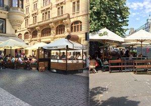 Předzahrádky v Praze frčí, za jejich povolováním je ale každoročně nepříjemná byrokracie.