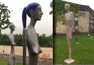 Výstava soch na Bastionu XXXI se rozšířila o sérii Femme Fatale.