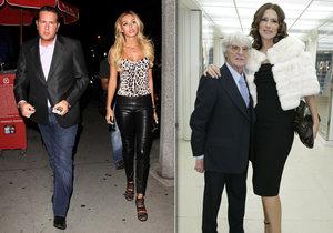 Petra, dcera dlouholetého šéfa F1 Ecclestonea, chystá rozvod!