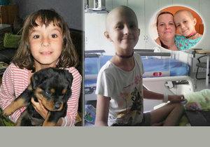 Na to, že má Lenička (10) rakovinu, se přišlo náhodou poté, co se na tělocviku bouchla do nohy. Dívku čeká ještě mnoho chemoterapií, podle maminky je ale velmi statečná.