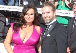 Jitka Čvančarová a Petr Čadek