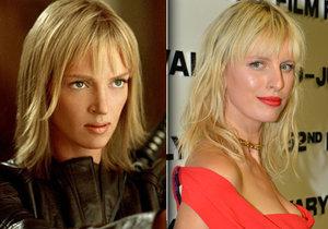 Uma Thurman a Karolína Kurková jsou si podobné.