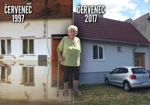 20 let od povodní na Moravě: Paní Květa přišla o dům, při vzpomínce pláče ještě dnes
