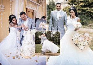 Vladimír Růžička a jeho manželka Maruška prožili pohádkovou svatbu.