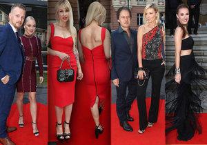 Karlovy Vary hostily další luxusní party jen pro vyvolené. Jak se blýskli na červeném koberci?