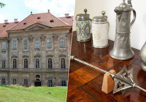 Žižkův palcát je zpět v klášteře! Po 232 letech!