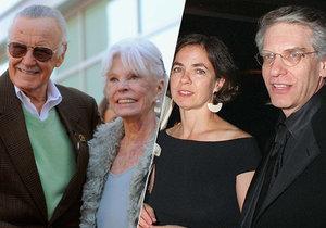 Stan Lee i David Cronenberg přišli o své manželky.