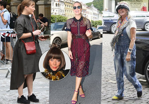 Františka opět hodnotí oblečení celebrit.
