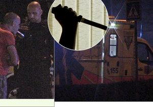 Cizinci se pobodali v bytě v Letňanech: Dva z mužů skončili v nemocnici