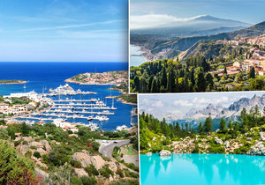 Tři tváře Itálie: Hory, pláže a záplava památek!
