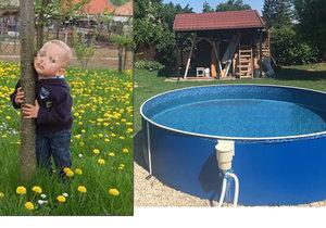 Dvouletý Matoušek se utopil v bazénu na zahradě.