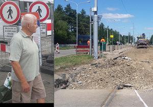 V brněnských ulicích vládne naprostý dopravní chaos, který postihuje jak řidiče, tak i chodce.