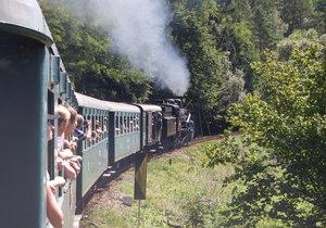 Parní vlak do Kácova zastaví i v Praze. Sveze lidi na vyhlášenou pouť
