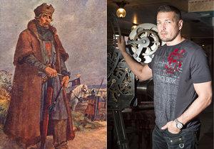 Petr Jákl natáčí film o Janu Žižkovi.