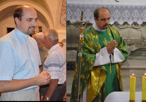 Mši svatou odsloužili biskup a kněz společně. Hned po ní se věřící dozvěděli, že farář končí.
