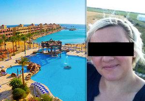 Čeští kriminalisté odletěli do Egypta prověřit ubodání Češky.