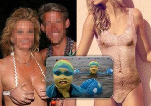 Nejhorší plavky, které si můžete vzít na pláž.