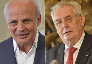 Michal Horáček si myslí, že má větší šanci stát se prezidentem než Miloš Zeman.
