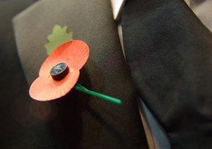 V Anglii a Kanadě je den, kdy si připomínají válečné veterány spojený s květem vlčího máku