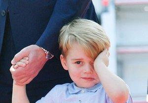 Princ George slaví čtvrté narozeniny