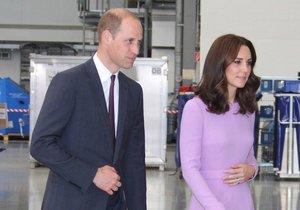 William a Kate na oficiální návštěvě Německa