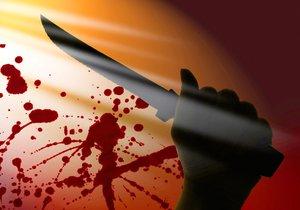 Útočník pobodal sebe i druhého muže.  (Ilustrační foto.)